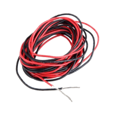 Wire (plastic covered, or co-axial cable)